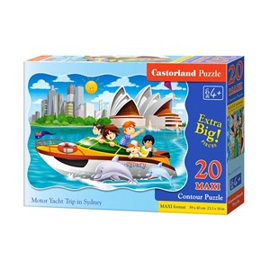 "Castorland (C-02375) - ""Sydney"" - 20 piezas"