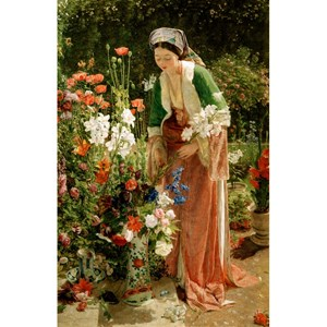"Puzzle Michele Wilson (A204-80) - John Frederick Lewis: ""In the Bey's Garden"" - 80 piezas"