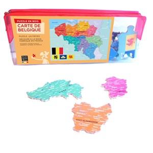 "Puzzle Michele Wilson (W83-24) - ""Belgium"" - 24 piezas"