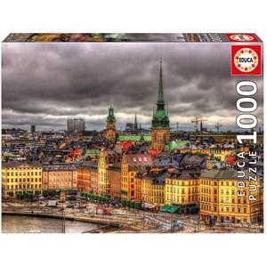 "Educa (17664) - ""Views of Stockholm, Sweden"" - 1000 piezas"