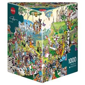 "Heye (29836) - Giuseppe Calligaro: ""Picnic"" - 1000 piezas"