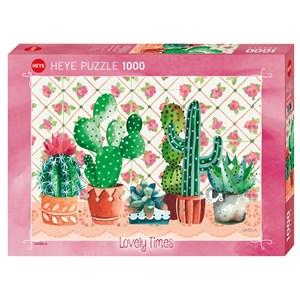 """Heye (29831) - Gabila Rissone: """"Cactus Family"""" - 1000 piezas"""