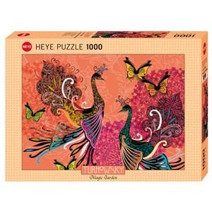 "Heye (29821) - Turnowsky: ""Peacocks & Butterflies"" - 1000 piezas"