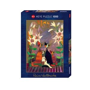 "Heye (29819) - Rosina Wachtmeister: ""Lilies"" - 1000 piezas"