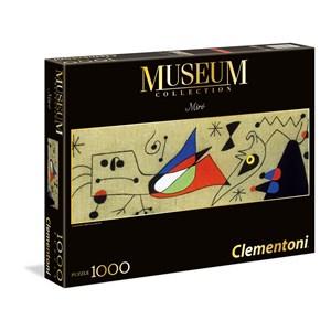 "Clementoni (39264) - Joan Miro: ""Woman and bird in the night"" - 1000 piezas"