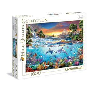 "Clementoni (39335) - Christian Riese Lassen: ""Under The Sea"" - 1000 piezas"
