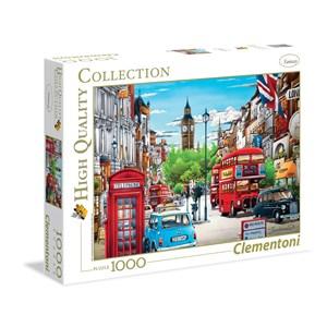 "Clementoni (39339) - Hiro Tanikawa: ""London"" - 1000 piezas"