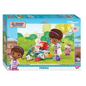 """Step Puzzle (91132) - """"Doc McStuffins"""" - 35 piezas"""
