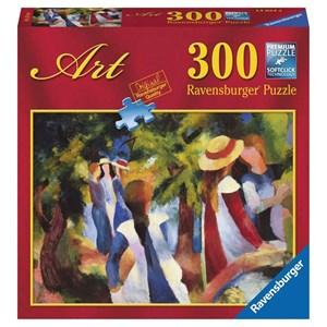 "Ravensburger (14024) - August Macke: ""Girls under Trees"" - 300 piezas"