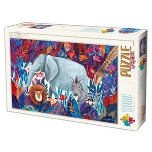 "D-Toys (75215) - Kurti Andrea: ""Tropical"" - 1000 piezas"