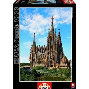 """Educa (15177) - """"Sagrada Familia, Barcelona"""" - 1000 piezas"""