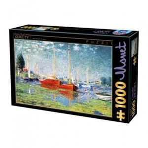 """D-Toys (67548-CM04) - Claude Monet: """"Argenteuil"""" - 1000 piezas"""