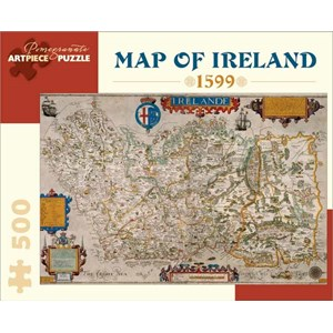 "Pomegranate (AA828) - ""Map of Ireland"" - 500 piezas"