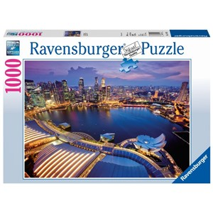 "Ravensburger (19141) - ""Singapore view"" - 1000 piezas"
