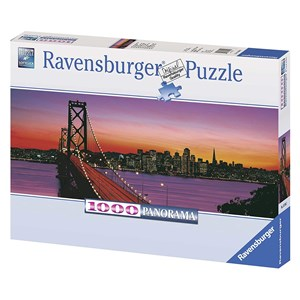 "Ravensburger (15104) - ""Oakland Bay Bridge, San Francisco"" - 1000 piezas"