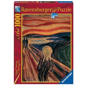"Ravensburger (15758) - Edvard Munch: ""The Scream"" - 1000 piezas"