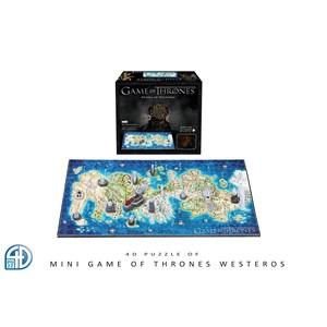"4D Cityscape (51001) - ""4D Mini Game of Thrones: Westeros"" - 350 piezas"