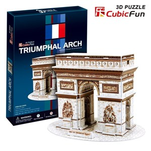 "Cubic Fun (C045H) - ""Arch of Triumph"" - 26 piezas"