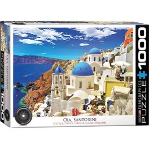 "Eurographics (6000-0944) - ""Oia Santorini Greece"" - 1000 piezas"