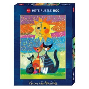 "Heye (29158) - Rosina Wachtmeister: ""Sun"" - 1000 piezas"
