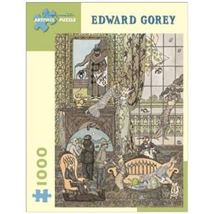 "Pomegranate (AA442) - Edward Gorey: ""Frawgge Mfrg. Co."" - 1000 piezas"