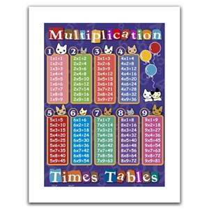 "Pintoo (H1375) - ""Multiplication table"" - 300 piezas"