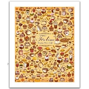 """Pintoo (H1471) - """"The tea time"""" - 500 piezas"""