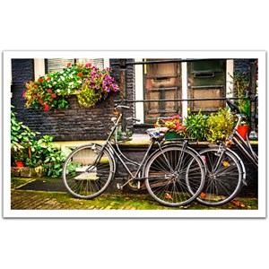 "Pintoo (H1572) - ""Netherlands, Amsterdam Bicycles"" - 1000 piezas"
