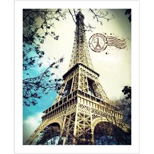 "Pintoo (H1486) - ""The Eiffel Tower"" - 500 piezas"
