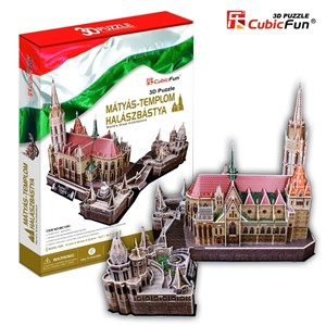"Cubic Fun (MC128H) - ""Hungary, Matthias Church"" - 176 piezas"