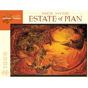 "Pomegranate (AA841) - Nick Hyde: ""Estate Of Man"" - 1000 piezas"