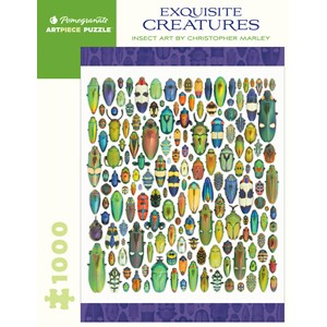 """Pomegranate (AA286) - Christopher Marley: """"Exquisite Creatures"""" - 1000 piezas"""
