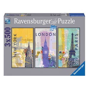 "Ravensburger (16329) - ""Travel around the world"" - 500 piezas"