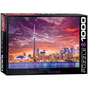 """Eurographics (6000-0738) - """"Toronto - Skyline"""" - 1000 piezas"""