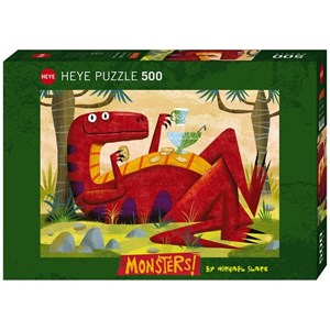"Heye (29624) - Michael Slack: ""Monster Punch"" - 500 piezas"