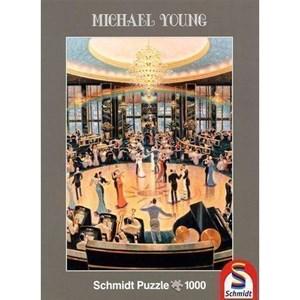 """Schmidt Spiele (59700) - Michael Young: """"Ballroom"""" - 1000 piezas"""