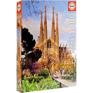 """Educa (15986) - """"Barcelona, Sagrada Familia"""" - 1000 piezas"""