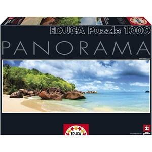"""Educa (15995) - """"Seychelles, Mahe Island"""" - 1000 piezas"""