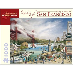 "Pomegranate (AA677) - Larry A. Wilson: ""Spirit of San Francisco"" - 1000 piezas"