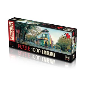 "KS Games (11265) - ""Calle Caminito, Argentina"" - 1000 piezas"