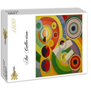 "Grafika (00319) - Robert Delaunay: ""Rythme, Joie de Vivre, 1930"" - 1500 piezas"