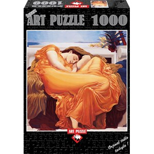 "Art Puzzle (81045) - Frederic Leighton: ""Flaming June"" - 1000 piezas"