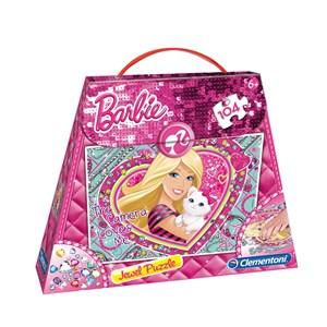"Clementoni (20451) - ""Barbie-Puzzle in Shopping Bag"" - 104 piezas"