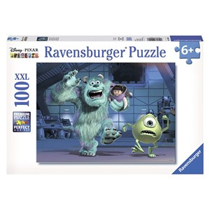 "Ravensburger (10941) - ""Sully, Mike & Boo"" - 100 piezas"