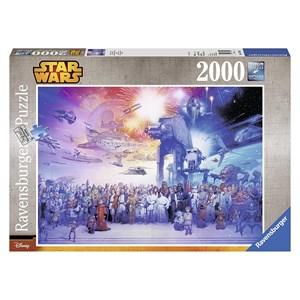 "Ravensburger (16701) - ""Star Wars"" - 2000 piezas"