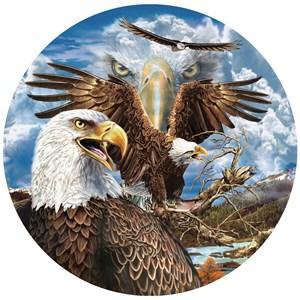 """SunsOut (46591) - Steven Michael Gardner: """"13 Eagles"""" - 1000 piezas"""