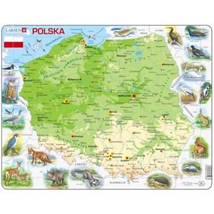 "Larsen (K98) - ""Poland, With Animals - PL"" - 61 piezas"