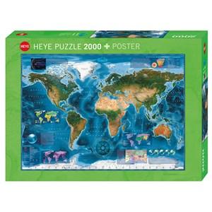 "Heye (29797) - Rajko Zigic: ""Satellite Map"" - 2000 piezas"