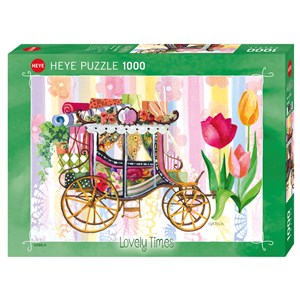 "Heye (29780) - Gabila Rissone: ""Carriage"" - 1000 piezas"