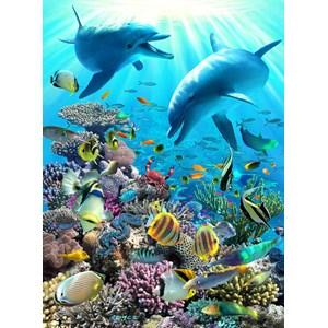 "Ravensburger (13022) - Royce B. McClure: ""Underwater Adventure"" - 300 piezas"